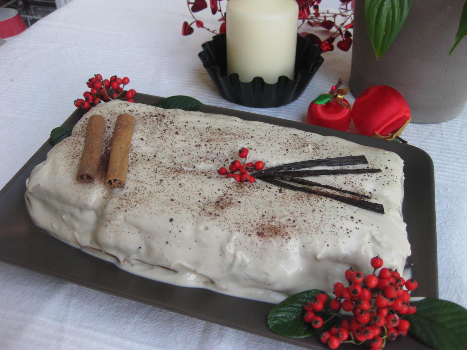 pastel de navidad de cocina energetica