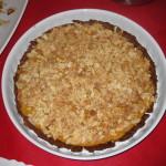 Tarta de manzana y almendra de Cocina Energetica