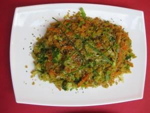 Salteado crujiente de quinoa de Cocina Energetica y Macrobiotica