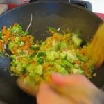 Añadimos la zanahoria y el brócoli