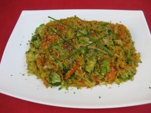 Salteado crujiente de quinoa de Cocina Energética