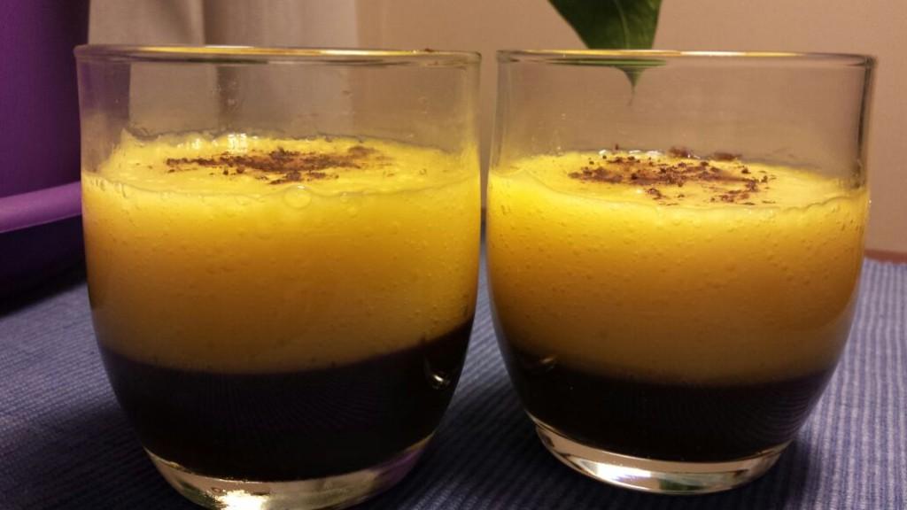 Cocina Energética y Macrobiótica de Sonia Oceransky mousse mango y algarroba